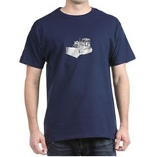Bulldozer in b&w T-Shirt