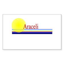 Araceli Rectangle Decal