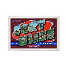 Fort Bliss Texas Rectangle Magnet