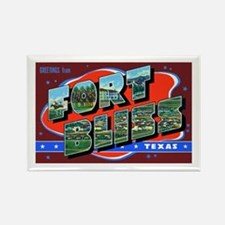 Fort Bliss Texas Rectangle Magnet