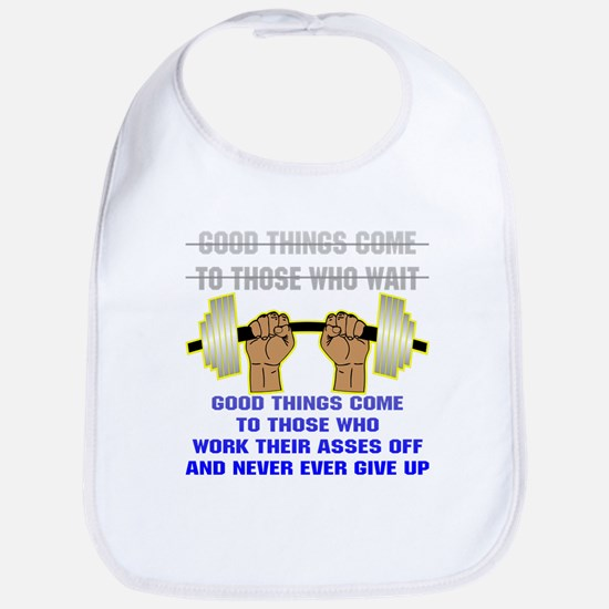 Good Things Come Bib