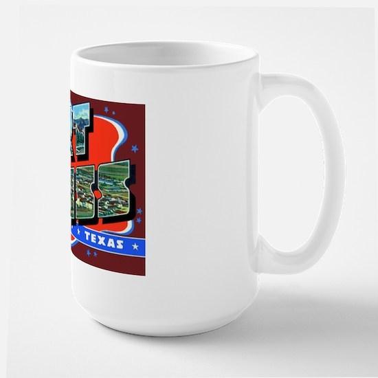 Fort Bliss Texas Large Mug