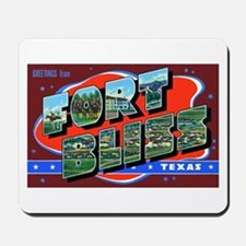Fort Bliss Texas Mousepad