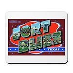 Fort Bliss Texas Mousepad