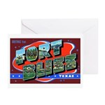 Fort Bliss Texas Greeting Cards (Pk of 10)