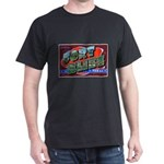 Fort Bliss Texas (Front) Black T-Shirt