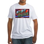 Fort Bliss Texas (Front) Fitted T-Shirt