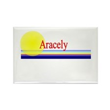 Aracely Rectangle Magnet