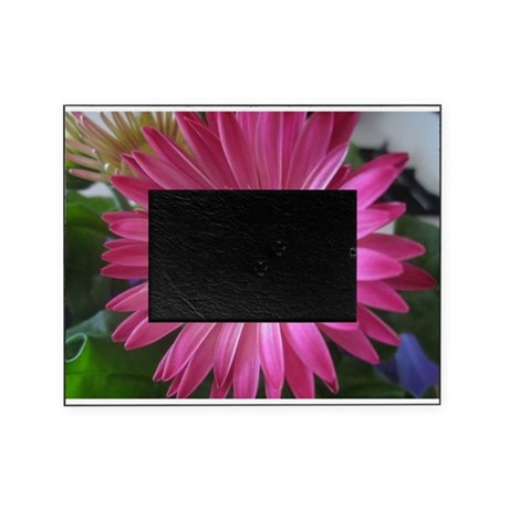 Pink Daisy Princess Picture Frame