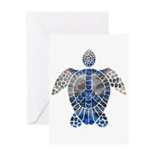Sea Turtle Peace Greeting Card