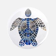 "Sea Turtle Peace 3.5"" Button"