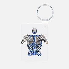 Sea Turtle Peace Keychains