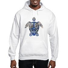 Sea Turtle Peace Hoodie