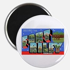 "Fort Riley Kansas 2.25"" Magnet (10 pack)"