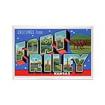 Fort Riley Kansas Rectangle Magnet