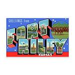 Fort Riley Kansas Mini Poster Print