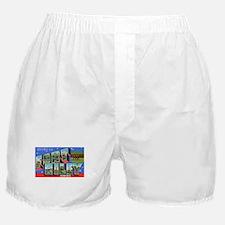 Fort Riley Kansas Boxer Shorts