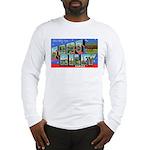 Fort Riley Kansas (Front) Long Sleeve T-Shirt