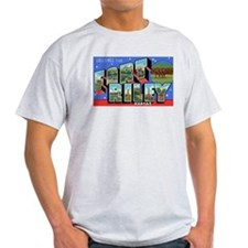 Fort Riley Kansas Ash Grey T-Shirt