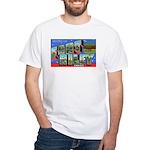 Fort Riley Kansas (Front) White T-Shirt