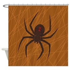 Spider's Web Shower Curtain