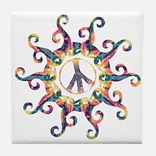 Groovy Sun - Delight Tile Coaster