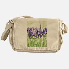 Irises Messenger Bag