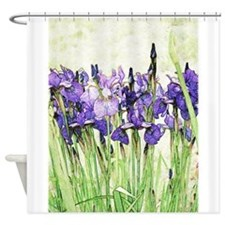Irises Shower Curtain