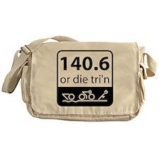 Ironman or Die Messenger Bag