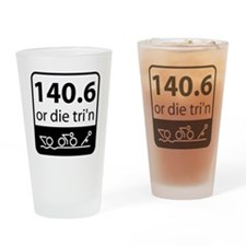 Ironman or Die Drinking Glass