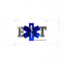 EMT Star of Life Aluminum License Plate