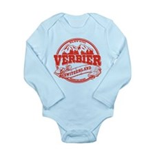 Verbier Old Circle Long Sleeve Infant Bodysuit