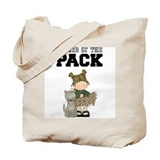 Girl Leader of the Pack Tote Bag