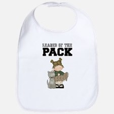 Girl Leader of the Pack Baby Bib