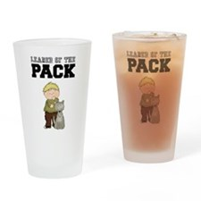 Boy Leader of the Pack Drinking Glass