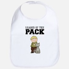 Boy Leader of the Pack Baby Bib
