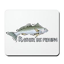 Rather Fish Mousepad