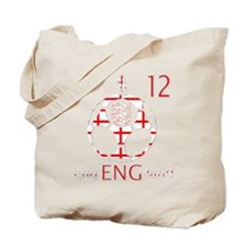 england number 12 football fans design Tote Bag