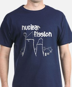 funny nuclear fission T-Shirt