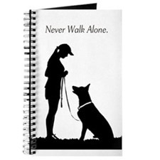 German Shepherd Silhouette Journal