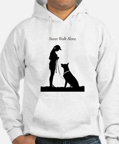 German Shepherd Silhouette Jumper Hoody