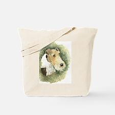Fox Terrier - Artwork by Paula Cook Tote Bag