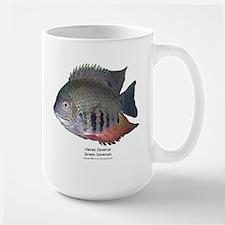 Heros severus - Green Severum Large Mug