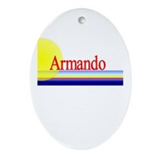 Armando Oval Ornament