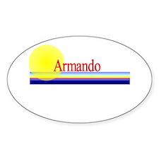 Armando Oval Decal