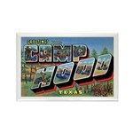Camp Hood Texas Rectangle Magnet (10 pack)