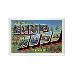 Camp Hood Texas Rectangle Magnet