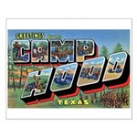 Camp Hood Texas Small Poster