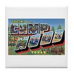 Camp Hood Texas Tile Coaster
