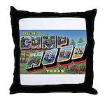 Camp Hood Texas Throw Pillow